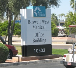 Boswell West Medical Office Building sign